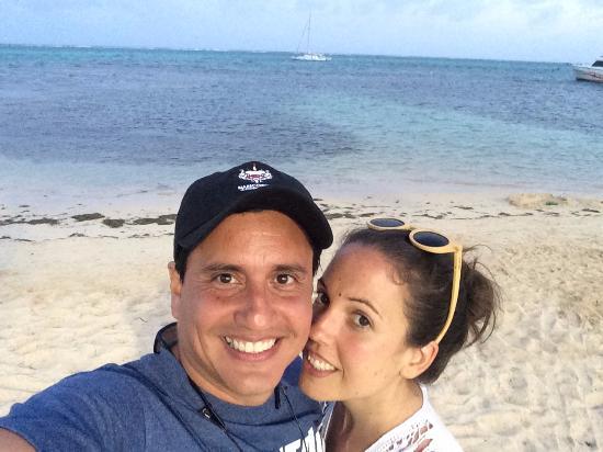 Blue Heaven Dives with Michael Cain: Isla Bonita at sundown