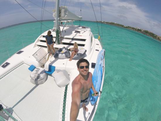 Oyster Pond, St. Maarten/St. Martin: Boat