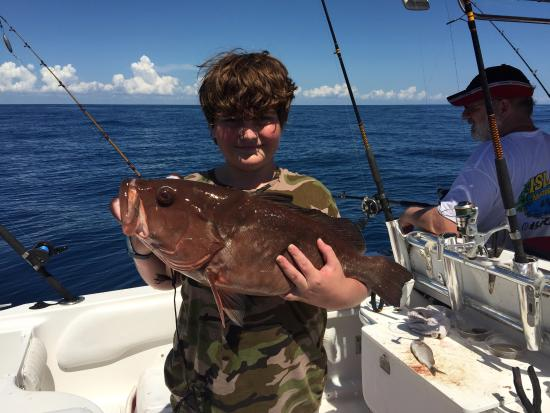Red grouper picture of port st lucie fishing charters for Fishing charters fort pierce fl