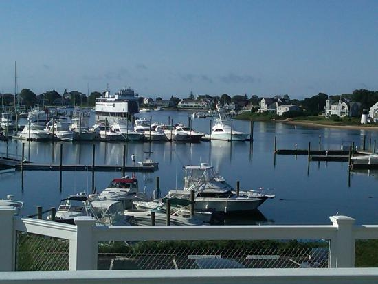 Anchor In Hotel: Hyannis Harbor from Anchor In