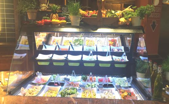 Eccles, UK: New Salad Bar