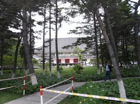 Peony Garden : 神武殿旧址(正面)
