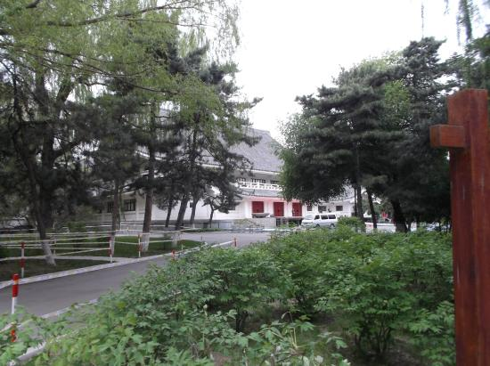 Peony Garden : 神武殿旧址(正面左側)