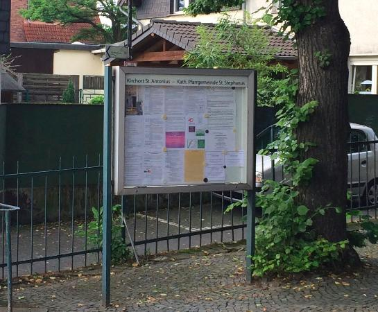 Leverkusen, Duitsland: Mural lateral