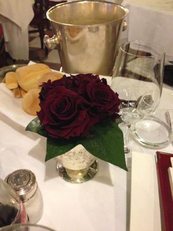 Ristorante Do Forni: centro de mesa