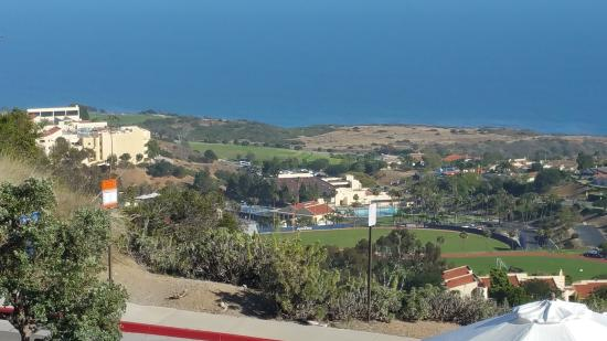 Villa Graziadio Executive Center at Pepperdine University : Campus view from the top of the hill