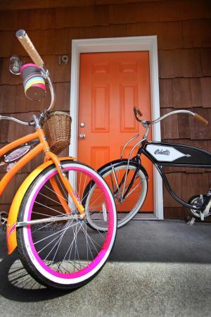 Coast River Inn: Free Bike Rentals