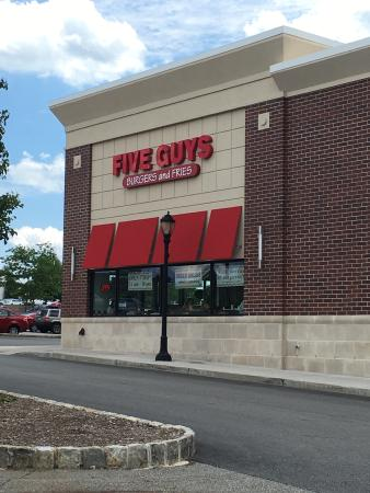 Rockaway, Nueva Jersey: Five Guys Burger and Fries