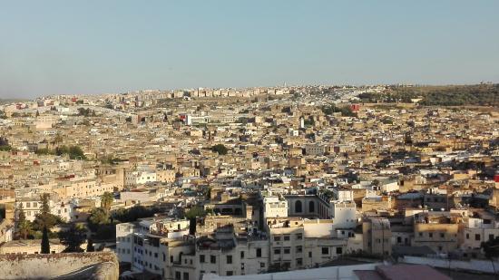 Riad Dar Tafilalet: Vistas des de la terraza