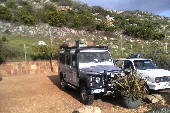Alberton, Afrique du Sud : Land Rover Puma In Capetown