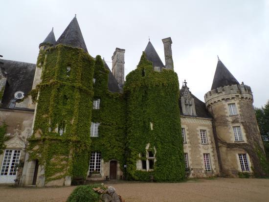 Courcelles-de-Touraine, ฝรั่งเศส: entrée du château