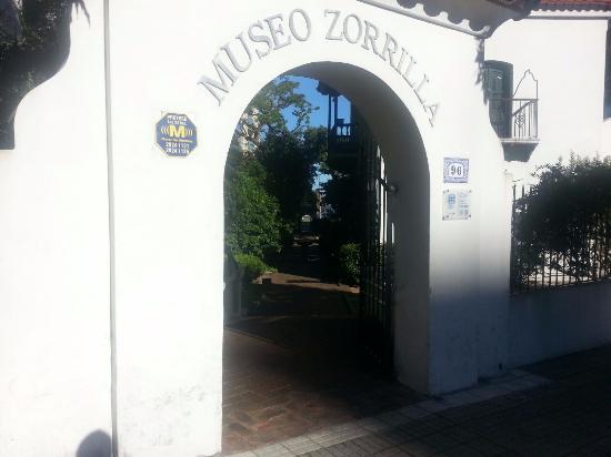 Museo de Juan Zorrilla de San Ma : Entrada
