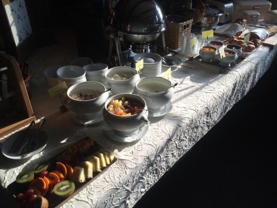 Fährhaus Neßmersiehl: Frühstücksbuffet