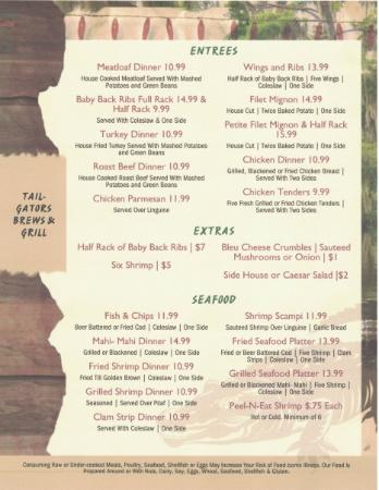 Port Saint Lucie, FL: menu