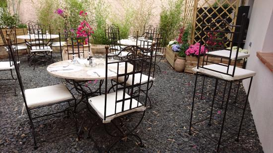 One Of Two Open Air Patios Picture Of Jardin Cabane Bambou Rayol