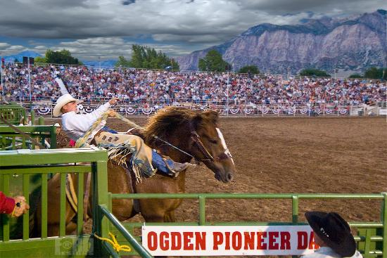 Ogden, UT: Pioneer Days Rodeo