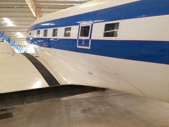 Santa Teresa, Nuevo Mexico: Old airliner