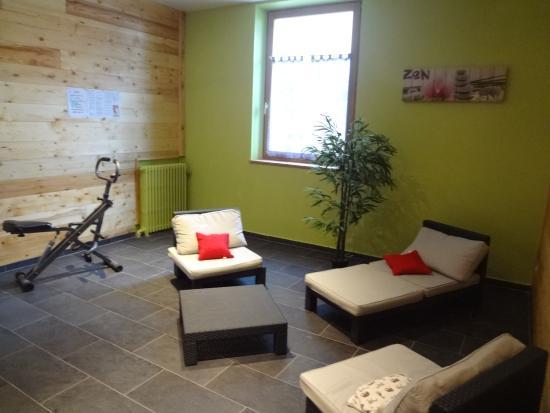 Hotel Restaurant Castillan : sauna