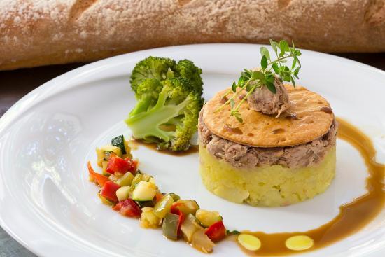 Hotel Restaurant Castillan : parmentier