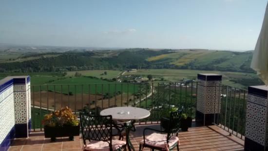 Hotel El Convento: Algunas habitaciones cuentan con esta terraza, para disfrutar de buenas vistas