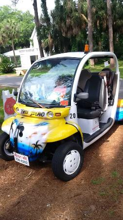 Island Hoppers: Our ride!