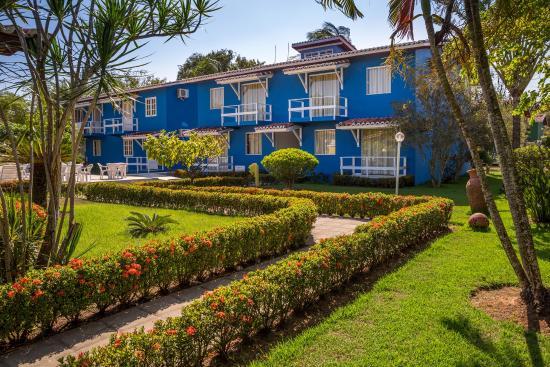 Atlantida Park Hotel: jardin