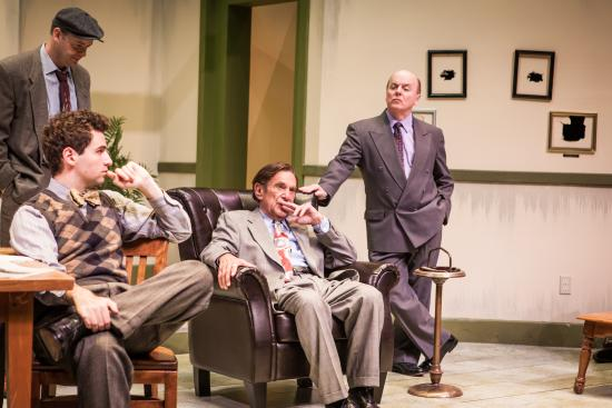Greenbrier Valley Theatre: Laughter on the 23rd Floor, 2015. Joe Kopyt*, Richard Price*, Stuart Margolin*, Kermit Medsker*