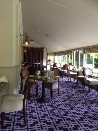 The Eastbury Hotel : Dining area