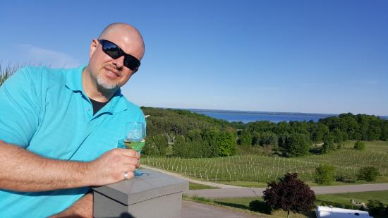 Chateau Chantal Winery and Inn: View from the Terrace