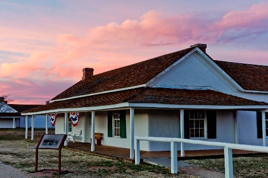 Camp Verde, AZ: Sunset at Fort Verde State Historic Park