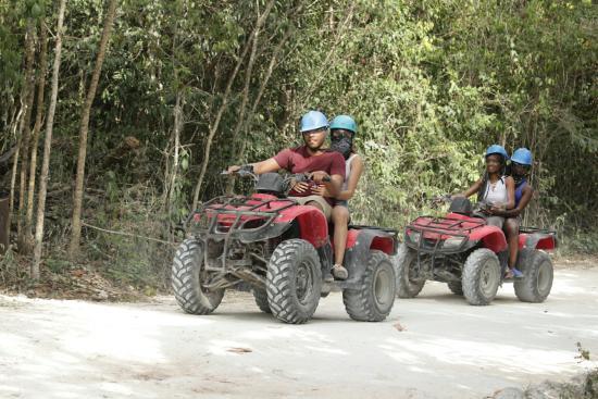 ATV Jungle & Cenote Tour