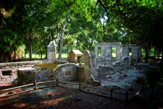 Sams Plantation Complex Tabby Ruins