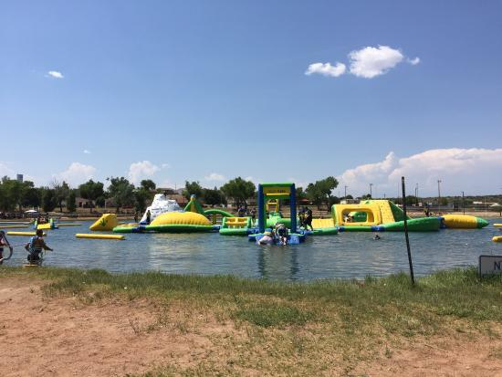 Santa Rosa, NM: Water fun!