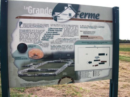 Saint-Joachim, Canada: Joyau patrimonial, Centre d'initiation La Grande Ferme