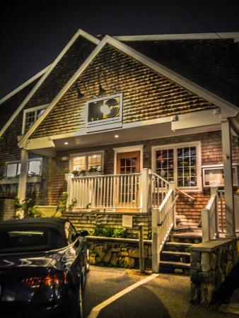 MC Perkins Cove: Outside of Restaurant