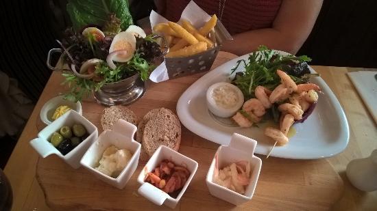 Longton, UK: More wonderful food