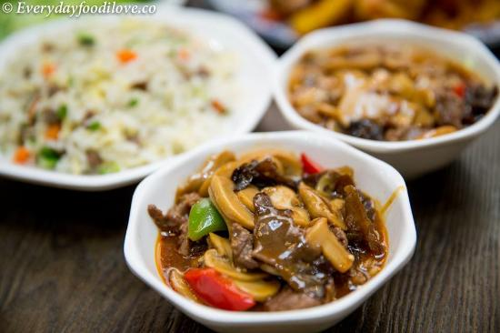 Beef dish picture of amber chinese muslim restaurant for Amber asian cuisine