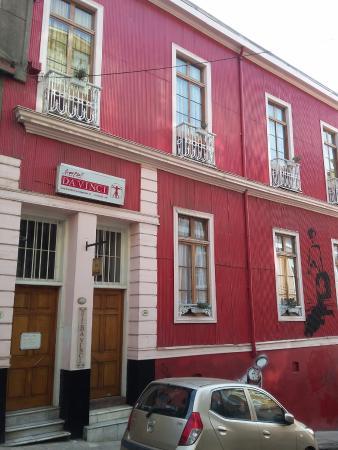Hotel Da Vinci Valparaiso: Fachada de zinco