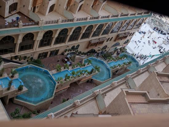 Makkah Hilton Towers: Tower 3 haram view
