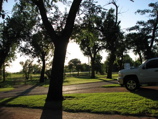 Canute, OK: Nice and Green