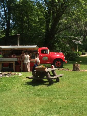 Beverly Shores, IN: Outside dining or take home