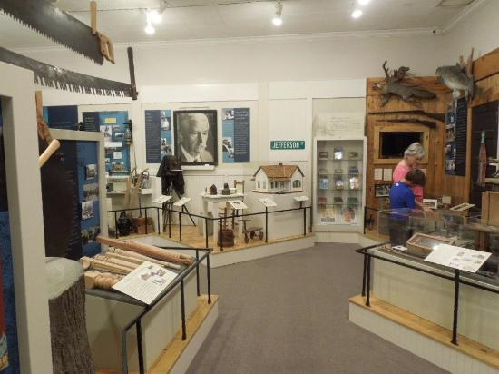 Union County Heritage Museum: main exhibit room