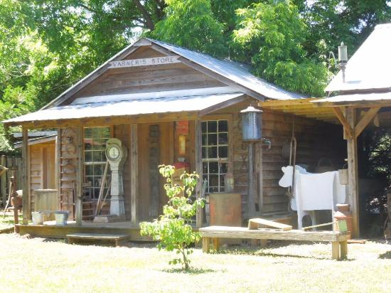 Union County Heritage Museum: general store--one of several buildings behind the museum