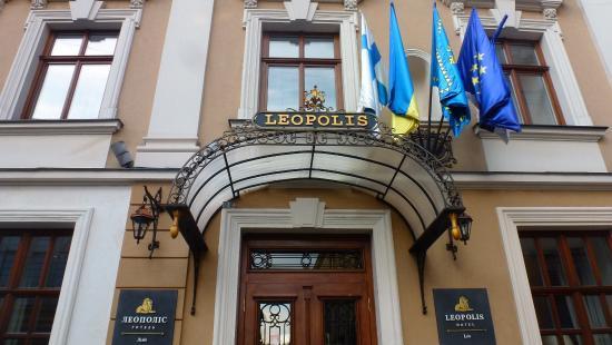 Leopolis Hotel: Entrance