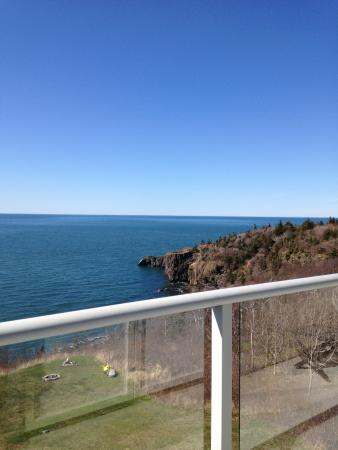 Cliffside B & B : View from Master