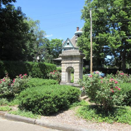 The Easton Fountain, the Giant Oak Park, June 2016