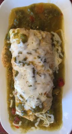 Оджо-Кальенте, Нью-Мексико: Outstanding Breakfast Burrito
