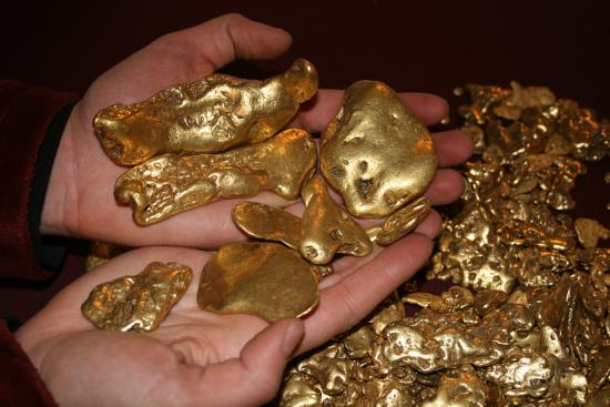 Gold Daughters Alaska From A Fairbanks Co Mining Operation