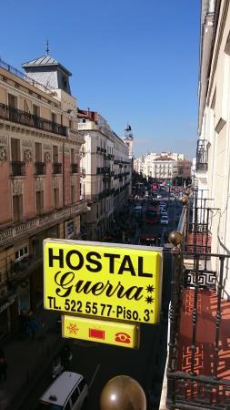 Guerra Hostal : Vista do apartamento individual
