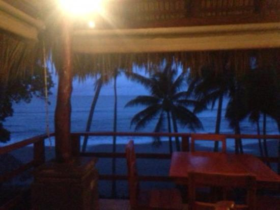 Tambor, Κόστα Ρίκα: View from the bar at dinner restaurant